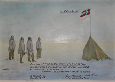 South Pole Painting