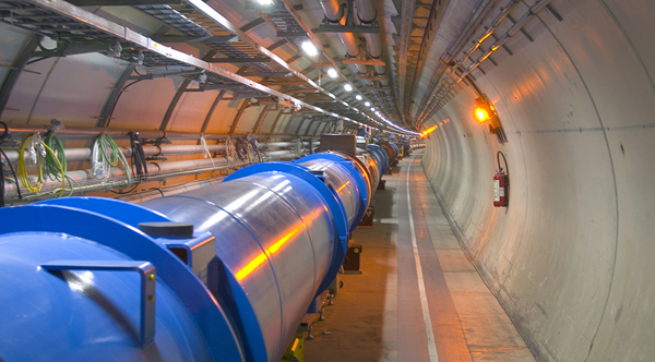 Section of the Large Hadron Collider.