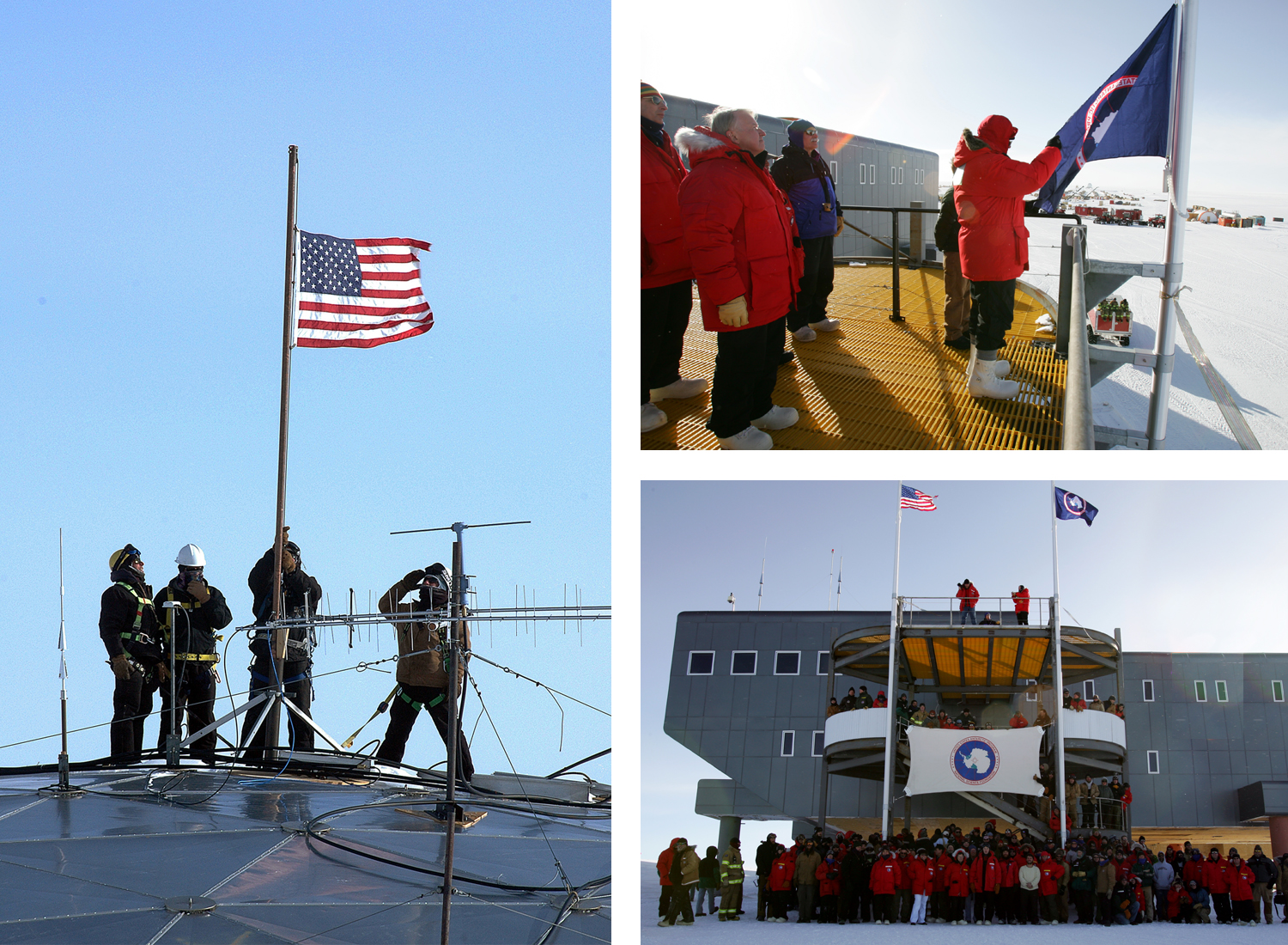 South Pole Dedication