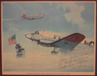 Picture of plane landing at South Pole.