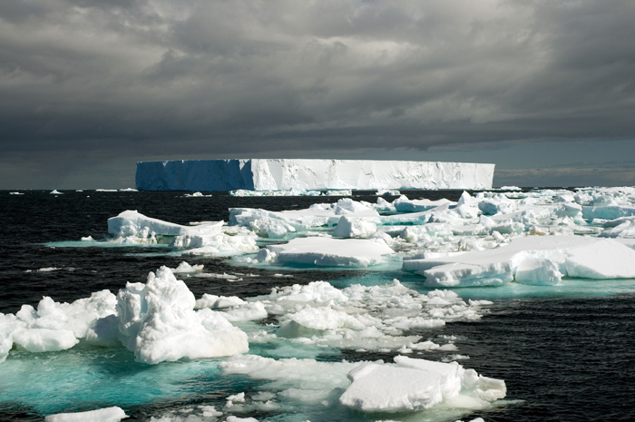Iceberg in the Weddell Sea