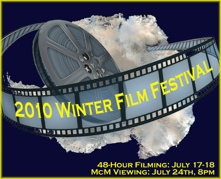 Graphic for film festival.