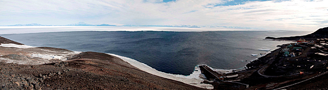 Panoramic of McMurdo Sound