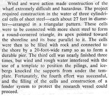 Antarctic Journal Excerpt
