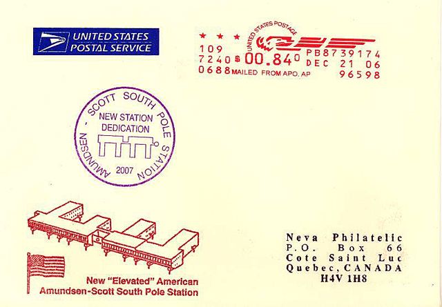 Cover of envelope