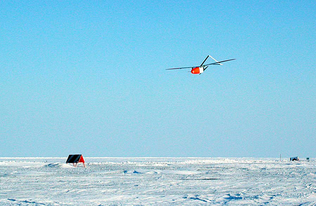 Aerosonde in the Arctic