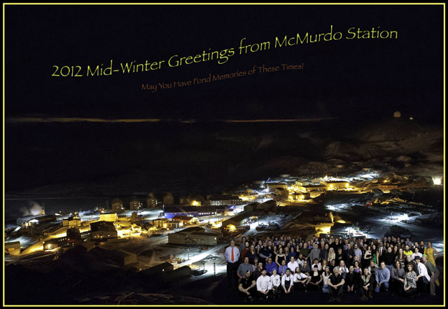 McMurdo Midwinter Greeting