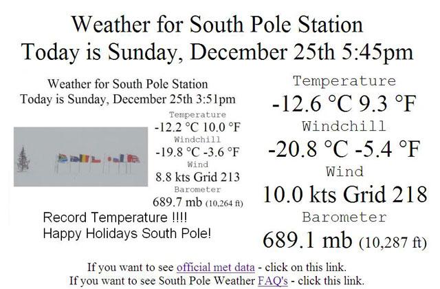 The Antarctic Sun: News about Antarctica - Heat Wave
