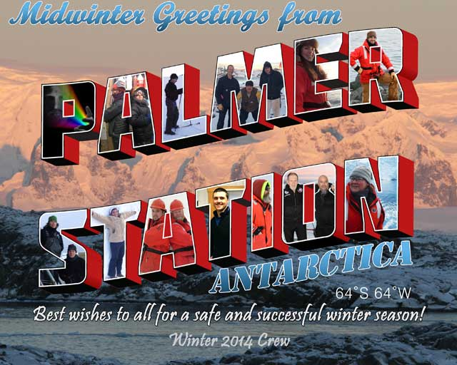 Message from Palmer Station.