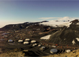 McMurdo Station, where poet Susan J. Allspaw Pomeroy wrote two-thirds of the poems for her debut book, Little Oblivion.
