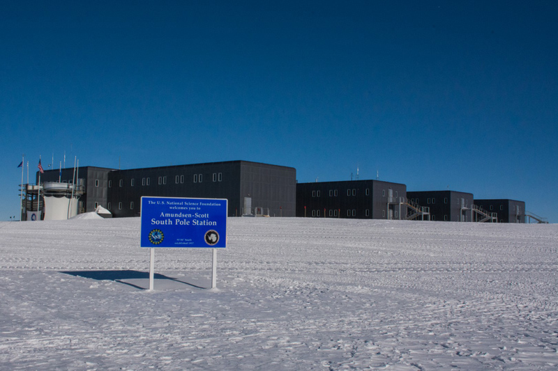 The Amundsen-Scott South Pole Station will not see flights in or out for nine months