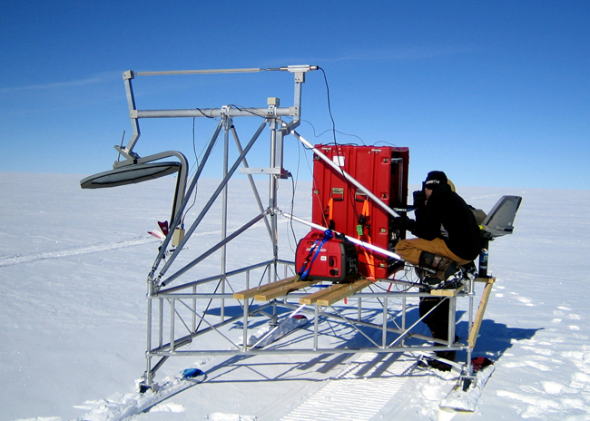 CReSIS radar in Greenland.