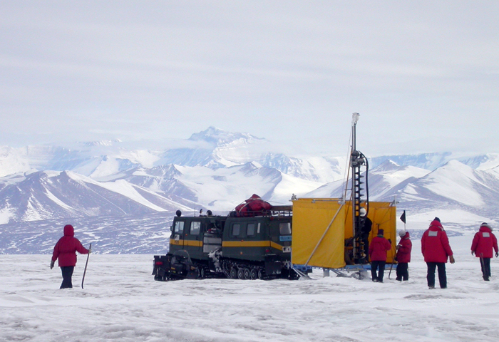 antarctic ice core dating methods