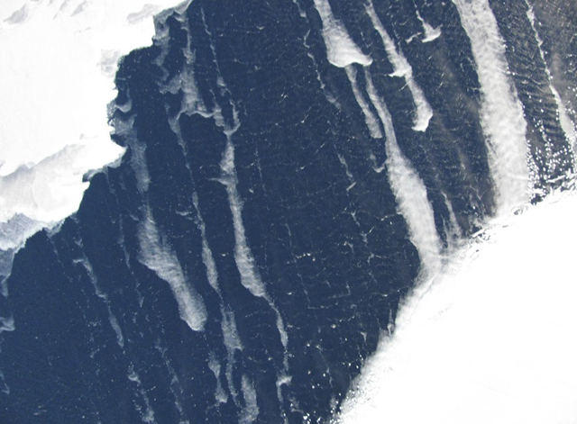 An image of the Terra Nova Bay polynya.