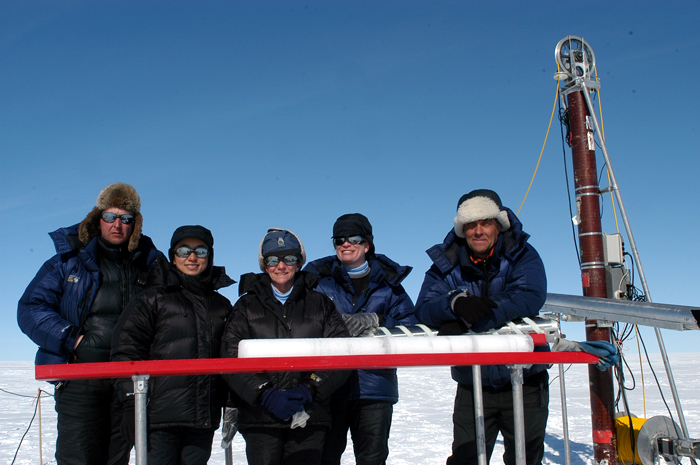 Ice Core Team in Greenland