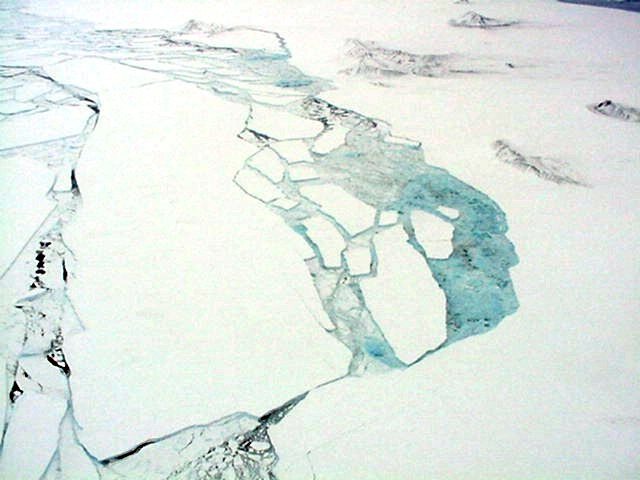 Larsen B Ice Shelf Collapse