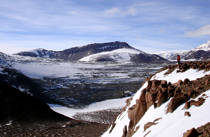 Ridge in the Transantarctic Mountains