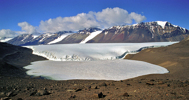 Lake Joyce in the McMurdo Dry Valleys.