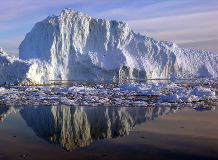 Ice Ridge in Greenland