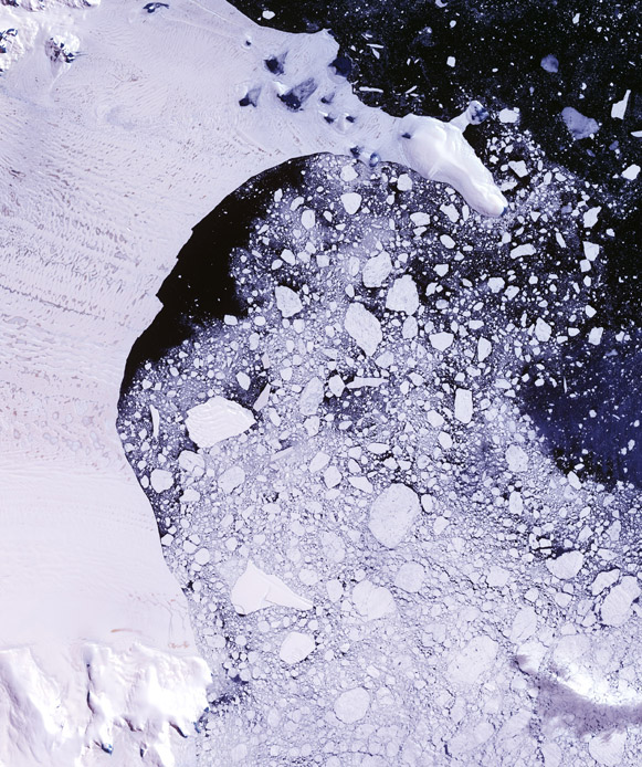 Larsen C Ice Shelf in 2002.