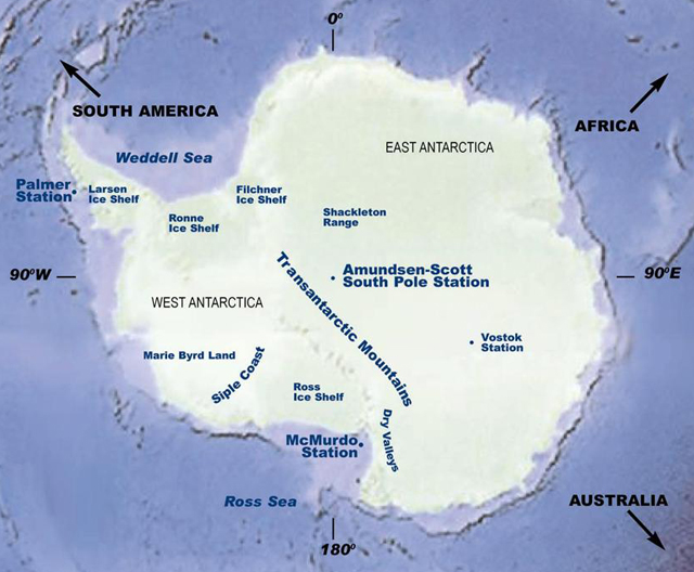 The Antarctic Sun News About Antarctica Moving Target - Antarctic research stations map