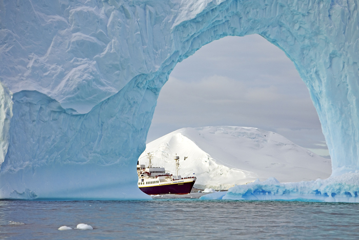 National Geographic Endeavour at Sea