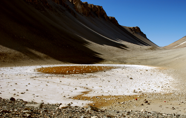 Don Juan Pond in the McMurdo Dry Valleys
