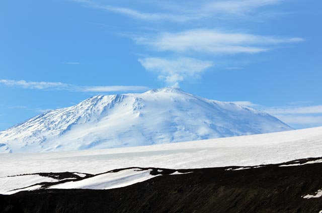 View of Mount Erebus.
