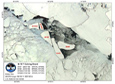 Descendants of the might B-15 iceberg that calved off the Ross Ice Shelf in 2000 continue to break apart.