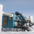 The IceCube facility at the South Pole houses the observatory's central servers and databases collecting data on thousands of neutrino events deep within the ice below. Over the next five years, researchers will add to it and upgrade its capabilities.